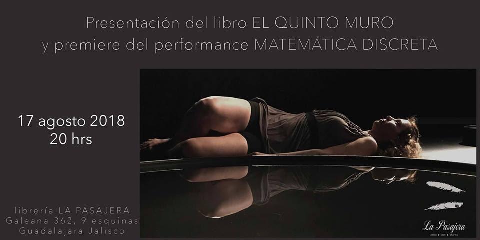 Mario Palacios Kaim presenta: El Quinto Muro / Librería La Pasajera y el Foro Cultural Andén