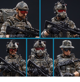 USMC TEAM 1/18 SCALE SET