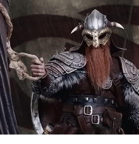1/6 SCALE VIKINGS FIGURES
