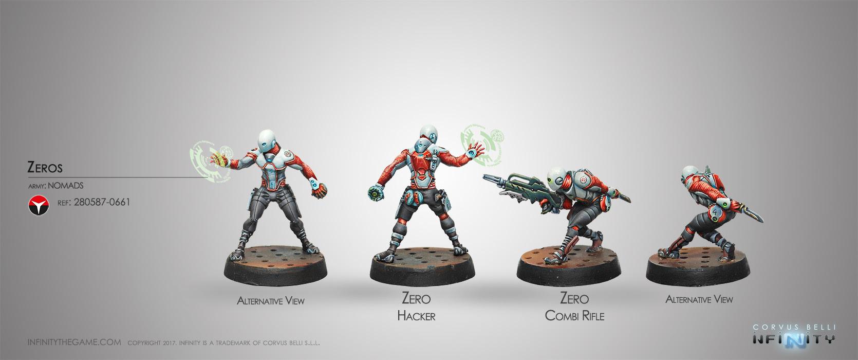 ZEROS (COMBI RIFLE / HACKER)