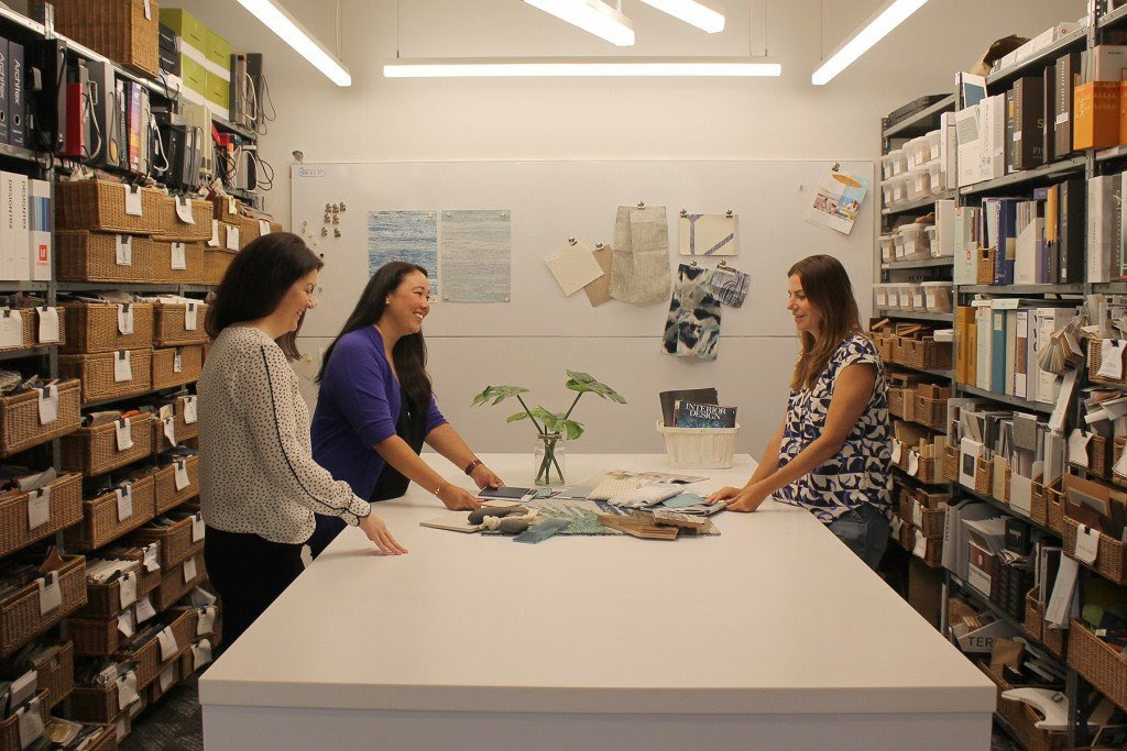 Team members collaborate within the G70 Interior Design Studio. | Photo: courtesy of G70