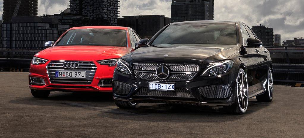 2017 Audi S4 vs Mercedes-AMG C43 comparison review
