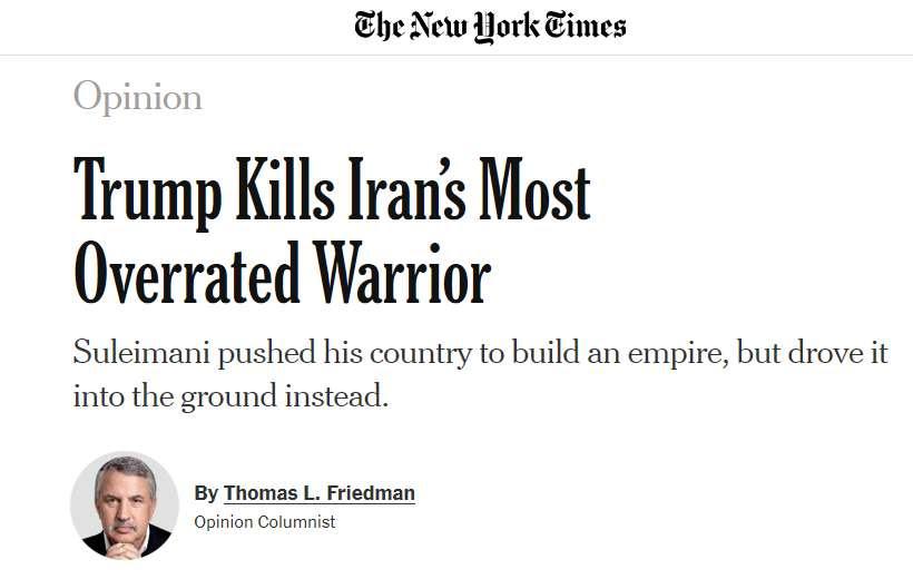 picture of Friedman column