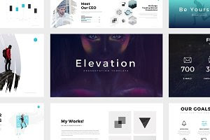 Elevation Minimal Powerpoint Theme