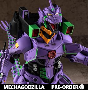 Godzilla vs. Evangelion Mechagodzilla (Type-3 Kiryu EVA Unit-01 Color Ver.) Exclusive Model Kit