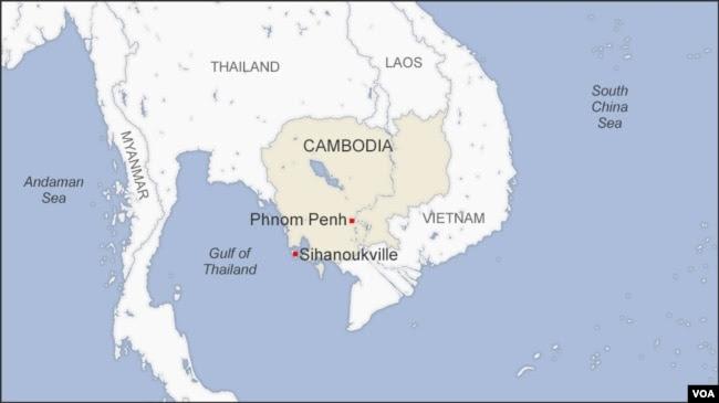 Sihanoukville, Cambodia (VOA)