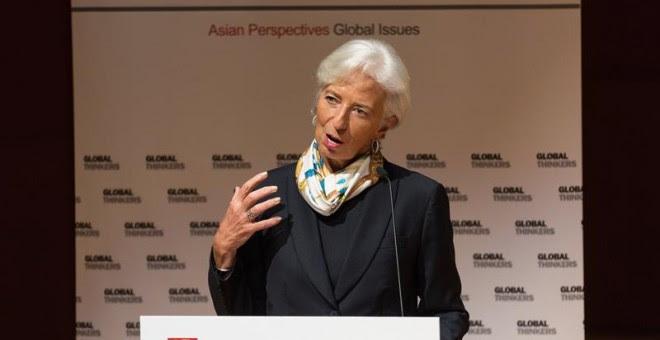 La directora del Fondo Monetario Internacional (FMI), Christine Lagarde. EFE