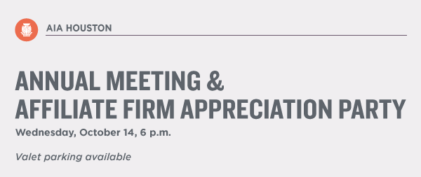 Annual Meeting & Affiliate Firm Appreciation Party