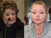 Jiřina Bohdalová neznínila ve své řeči Dominiku Gottovou ani její sestru Lucii....