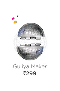 This is running out of stock very quickly - Gunjiya Maker at Rs.299