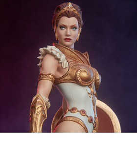 Masters of the Universe Teela 1/5 Scale Statue