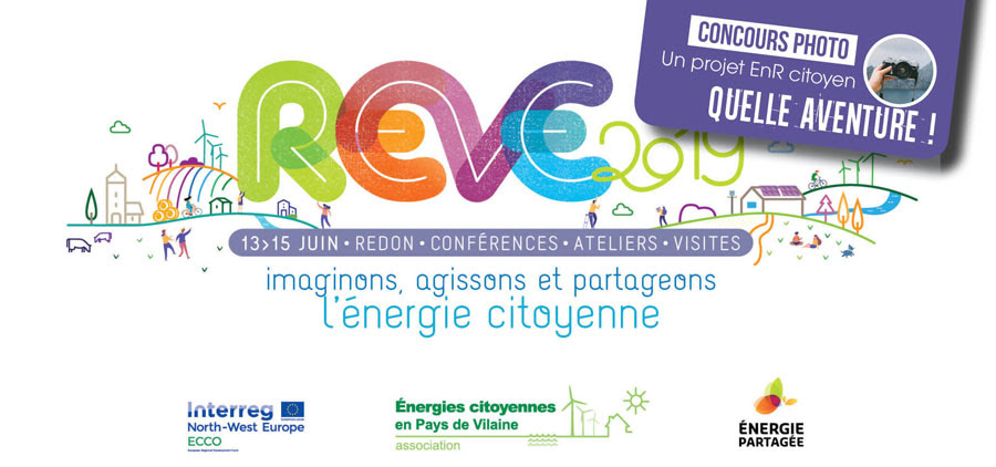 REVE 2019 - Les rencontres européennes de l'énergie citoyenne à Redon