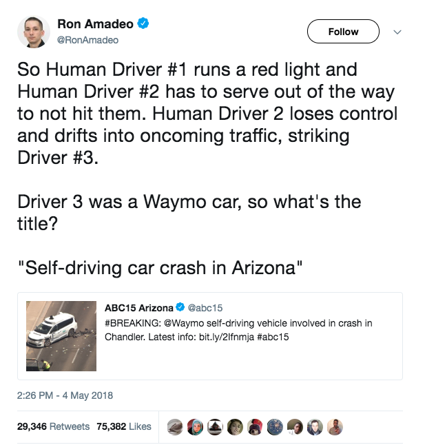 """""""David Hasselhoff may have been ahead of the curve on self-driving cars"""" - Annie's Newsletter, May 11th, 2018"""