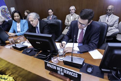 La OEA y Amazon Web Services colaborarán para apoyar a Estados Miembros contra desastres naturales