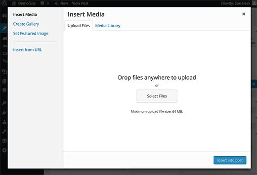 Media uploader popup in WordPress