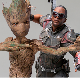AVENGERS: ENDGAME BATTLE DIORAMA SERIES 1/10 ART SCALE STATUES