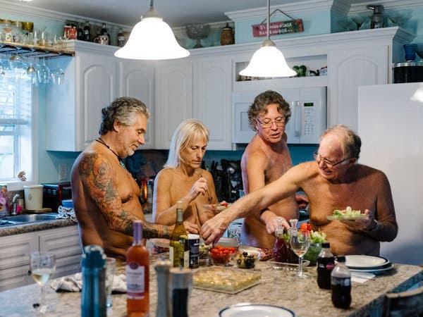 Image result for new york times aprons optional nudists priya