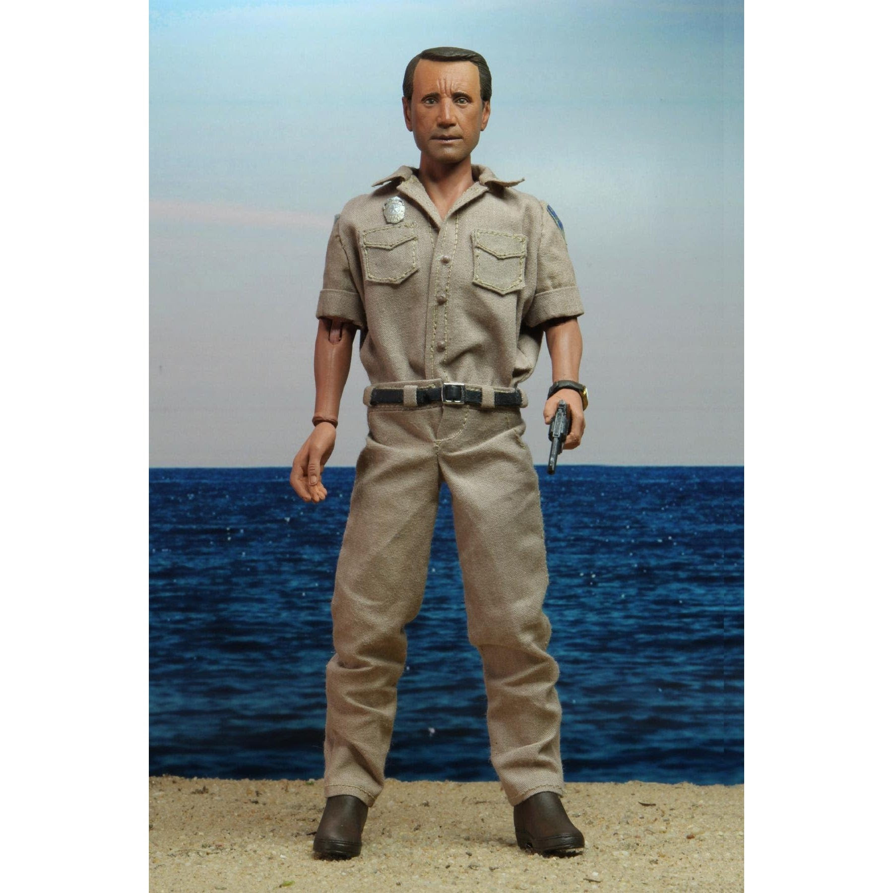 """Image of Jaws – 8"""" Clothed Action Figure – Chief Martin Brody - SEPTEMBER 2020"""
