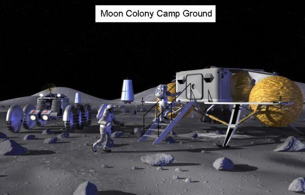Moon Camp ground