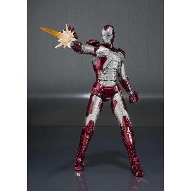 Image of Iron Man 2 S.H.Figuarts Iron Man Mark V & Hall of Armor Set
