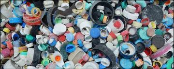 Plastic debris Midway