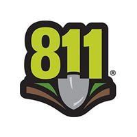 811 Call before you dig.