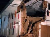 El terremoto ocurrió a las 02H41 horas, y su epicentro en una área poco poblada de la Amazonía.
