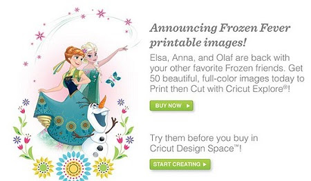 It`s Frozen Fever at Cricut!