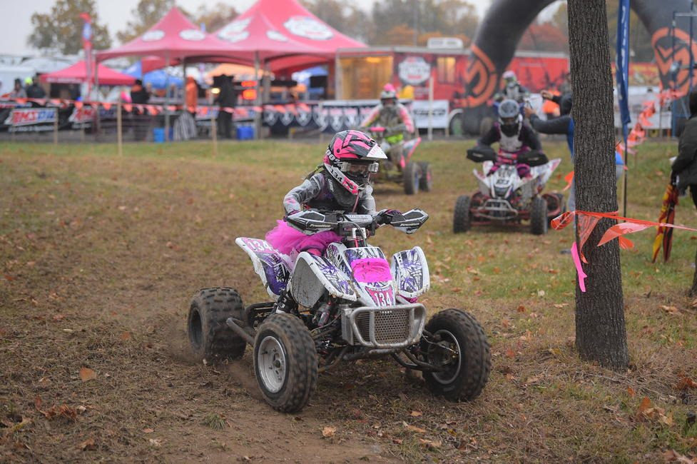 The Ironman GNCC was deemed a pink race where riders, fans and the facility were adorned in PINK.