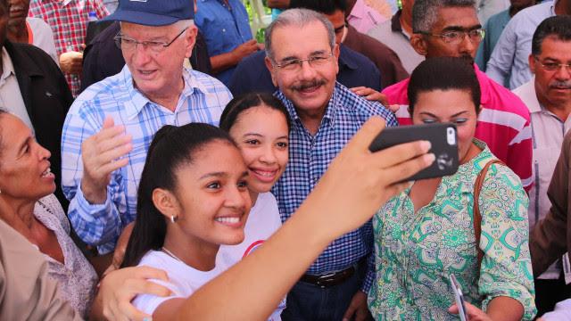 Danolo Medina en selfie