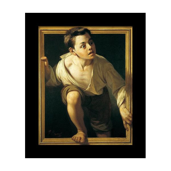 Escaping Criticism Framed Print by Pere Borrell Del Caso | Classic paintings,  Art, Trompe l'oeil