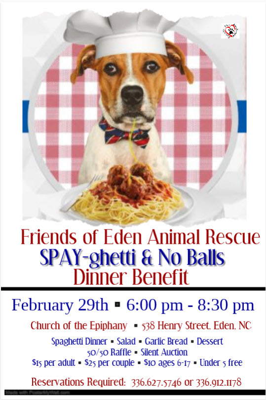 Eden Animal Shelter Benefit Dinner