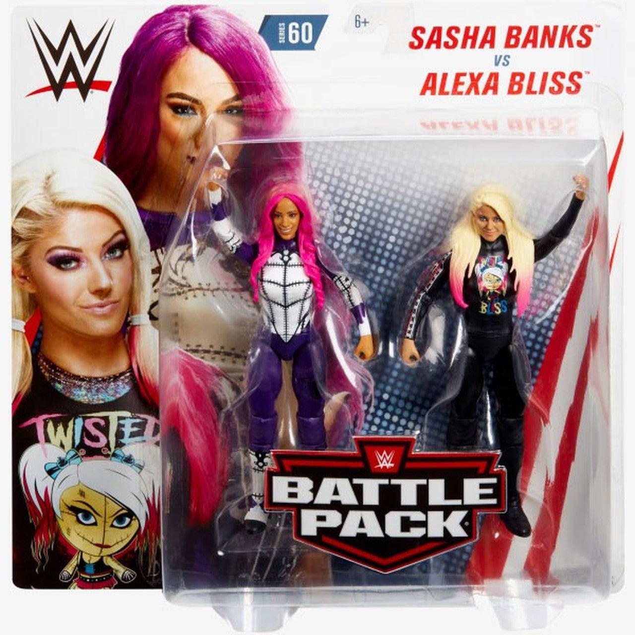 Image of WWE Battle Packs Series 60 - Sasha Banks & Alexa Bliss
