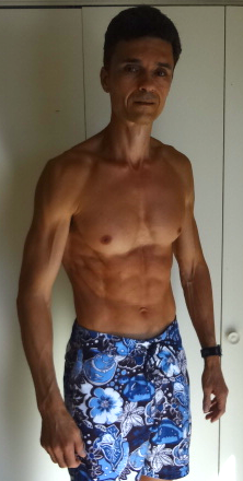 Roger Haeske less than a month before he turns 50 years old