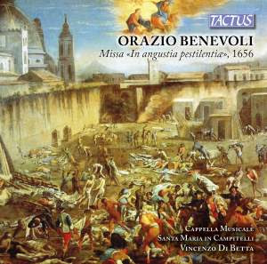 Orazio Benevoli: Missa 'In angustia pestilentiae', 1656 Product Image