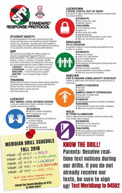 Primary Pride – Principal Newsletters – Meridian School