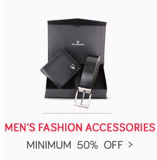 Men's Fashion Accessories - Wallets, Belts ,Socks & More