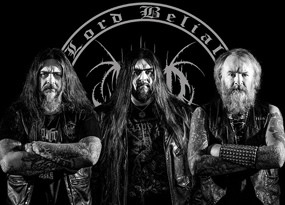 Swedish Black Metal band Lord Belial signs with Hammerheart Records & is set to record their 9th full-length album!
