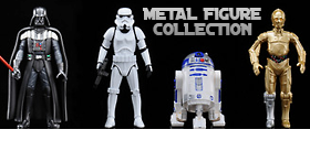 STAR WARS METAL COLLECTION FIGURES