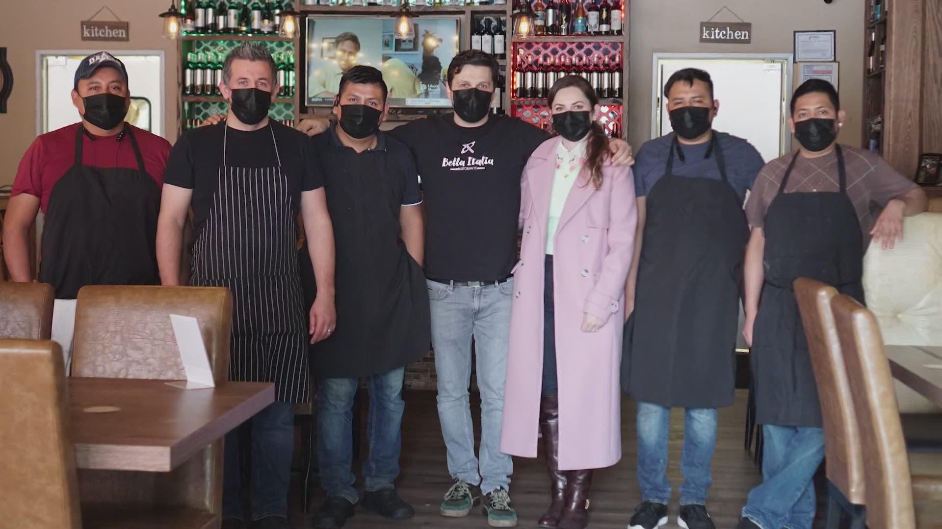 Bella Italia Ristorant staff