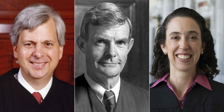 Judges Clifton, Canby and Friedland of the 9th Circuit. (Court photo via AFP/Getty Images)</p>