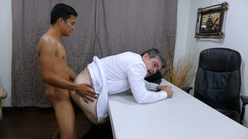 DaddysAsians - Daddy and Alex Seal the Deal Bareback