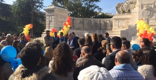 Javier Arenas en un acto del PP en Cádiz. EP