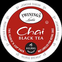 Twinings Chai Keurig Kcup tea