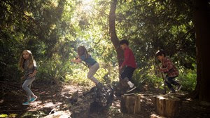 How to Do Kids' Discipleship in the Woods