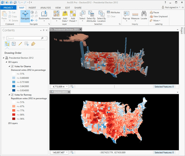 Big Data and GIS, ArcGIS 10.3 Released, Using GIS to Count the Homeless