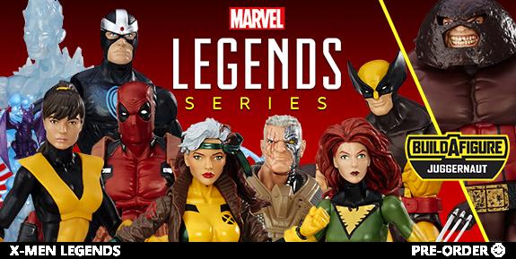 MARVEL LEGENDS - X-MEN, SPIDER-MAN, CAPTAIN AMERICA