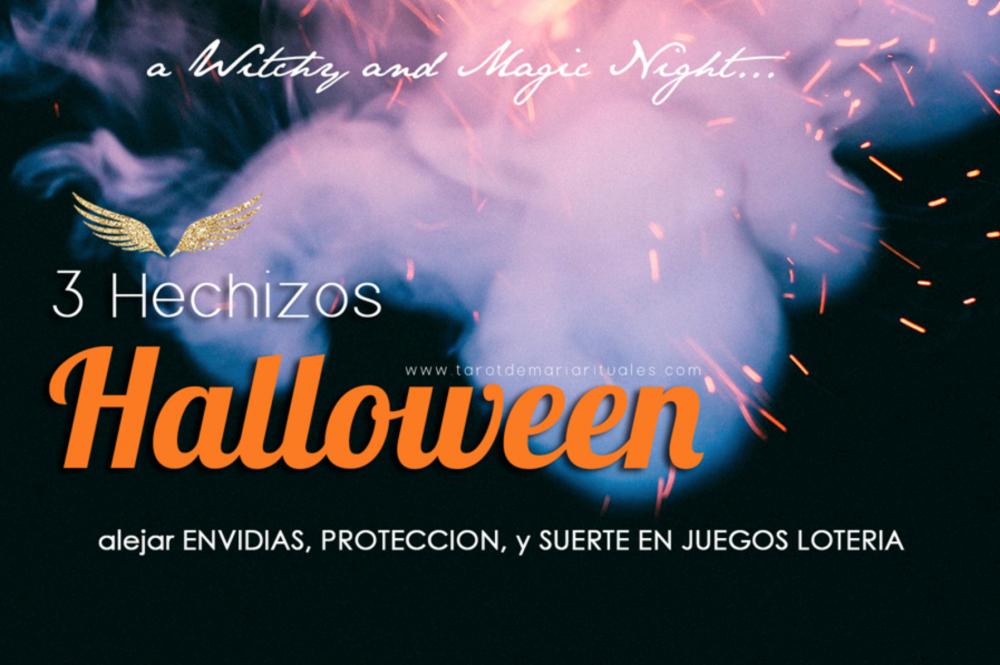3 Hechizos Halloween Protección, Suerte Lotería