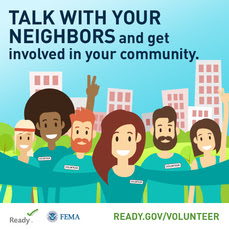 Volunteer in Your Community Graphic