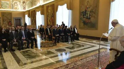 El Papa Francisco pide reafirmar el valor de la justicia